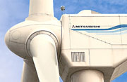 Mitsubishi MWT92 wind turbine